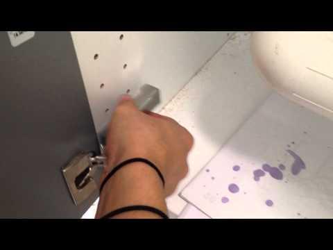 IKEA Utrusta hinges with dampers