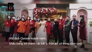 News - Những đám cưới đeo khẩu trang giữ ổ dịch virus nCoV kì lạ
