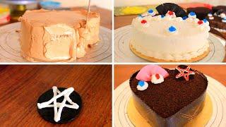 How To Make Chocolate Cake Decorating Tutorial   Cake   Chocolate Cake   Petuk