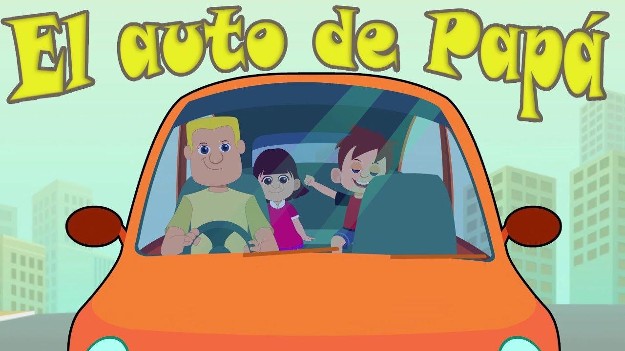 El Auto de Papá - Banda Marina (Canción infantil en dibujos)