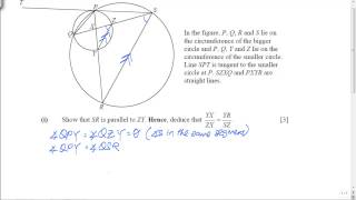 GCE O-Level A-Maths: Plane Geometry Question (Part 1)