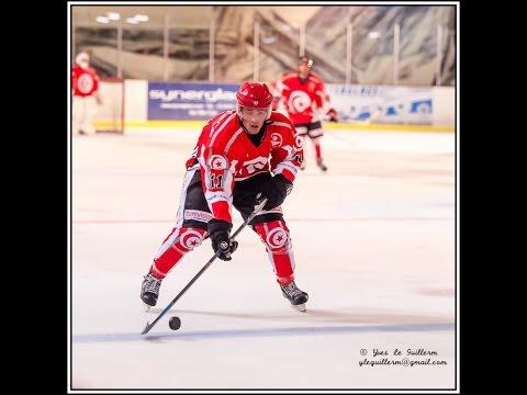 Reportage sur le 1er match de l'équipe tunisienne de hockey sur glace.