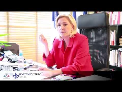 Horizon Québec Actuel - Marine Le Pen sur la classe politique québécoise