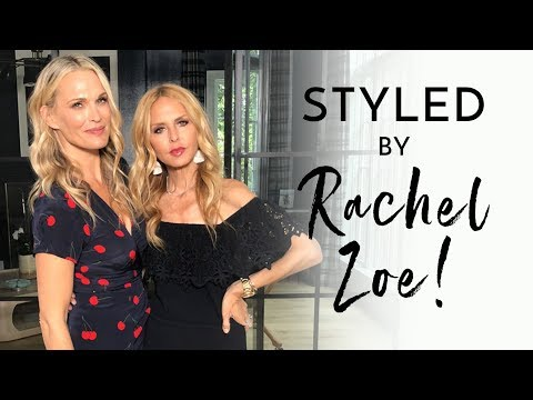 Rachel Zoe Styles Me For My Birthday Weekend   Molly Sims 2018