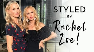 Rachel Zoe Styles Me For My Birthday Weekend | Molly Sims 2018