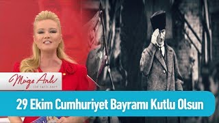 29 Ekim Cumhuriyet Bayramı kutlu olsun - Müge Anlı ile Tatlı Sert 29 Ekim 2019