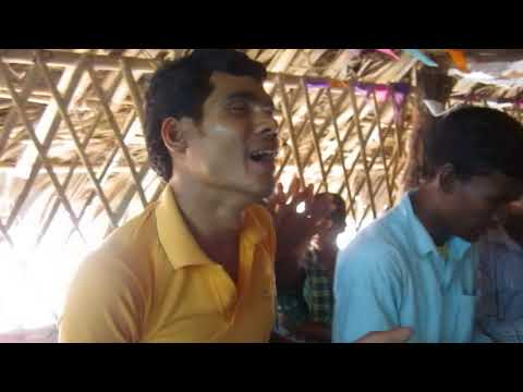 Worship in a very rural church in India
