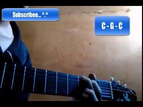 Kunci Gitar Bintang Kecil - Gampang