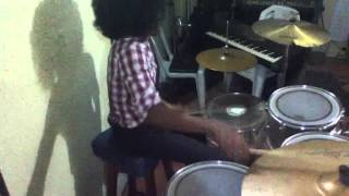 Awesome God by kirk Franklin Drum cover