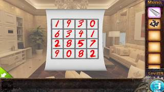 Difficult  Escape Game 50 Room 1 Level 9 - Hd