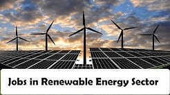 How to get a job in Renewable Energy sector
