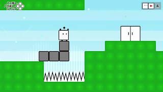 [プレイ動畫] ハコボーイ!& ハコガール!/ BOXBOY! + BOXGIRL!: game-play 01