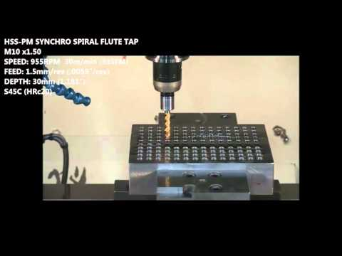 YG 1 Synchro Rigid Machine Taps   Cutwel TV