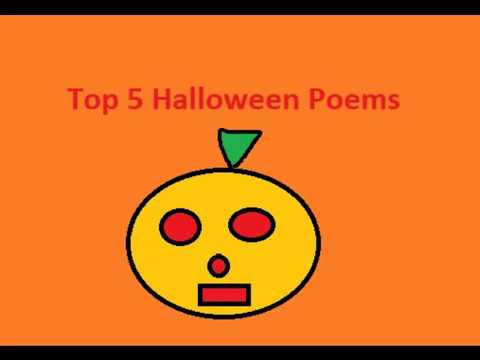 Top 5 Halloween Poems - YouTube