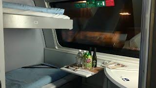 Riding New Nightjet Sleeper Train Zurich - Berlin in Sleeping Car