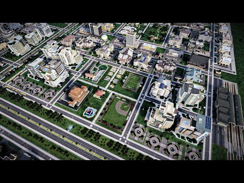 Simcity 5 | A CLEAN AND GREEN CITY | #29