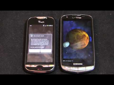 T-Mobile myTouch 4G Slide vs. Samsung DROID Charge Dogfight Part 2