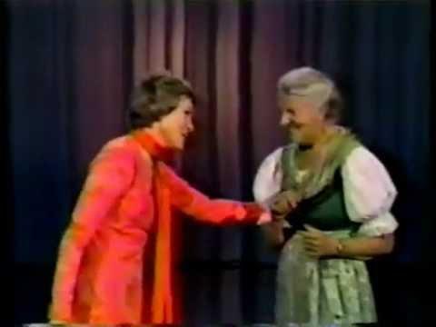 Julie Andrews and Maria Von Trapp part 1 of 2