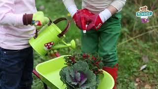 Dětská zahradnická sada Natur' Janod plechová zele