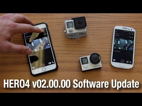 Updating the GoPro HERO 4 Black and Silver Editions via Smartphone App for Android or iOS