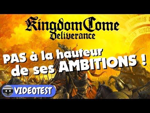KINGDOM COME DELIVERANCE : PAS à la hauteur de ses AMBITIONS ! TEST