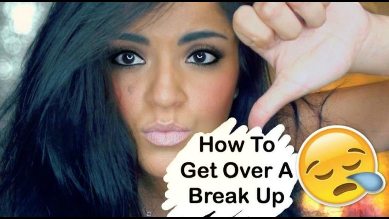 how to want to get over a breakup