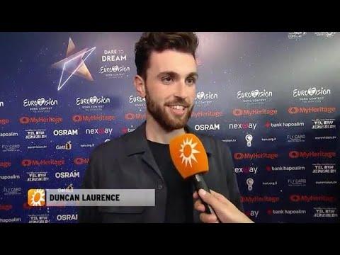Tweede repetitie Duncan Laurence onrustig - RTL BOULEVARD