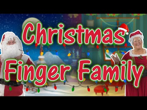 Christmas Finger Family   Jack Hartmann