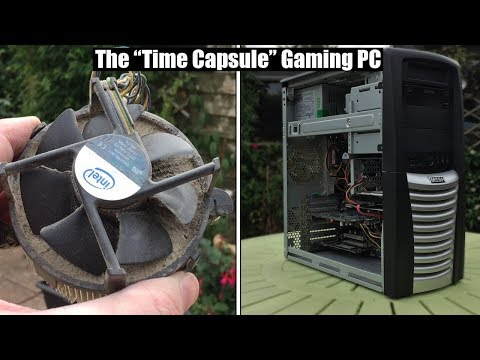 Using an old £1000 ($1300) Gaming PC For The First Time In 10 Years...