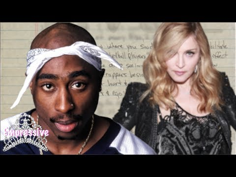Tupac Dumped Madonna...because She Was White? | New Prison Letter Details Exposed