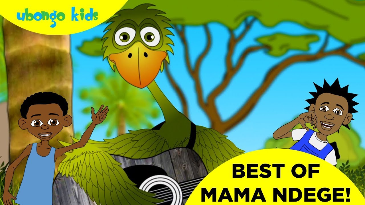 THE BEST OF MAMA NDEGE | Ubongo Kids | African Educational Cartoons