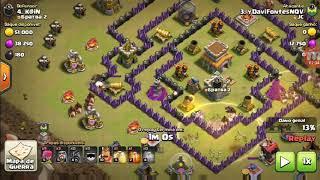 A melhor estratégia 3 estrela pra atacar no cv8 em Guerra - Clash of clans