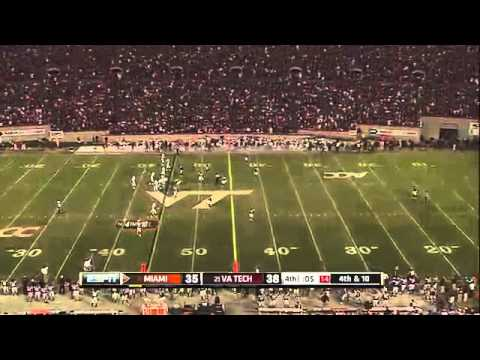 Metallica - Enter Sandman - Played On American Football Match Virginia Tech - Awesome