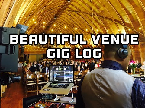 Wedding Gig Log! Great venue and spinning with DJ Jointz