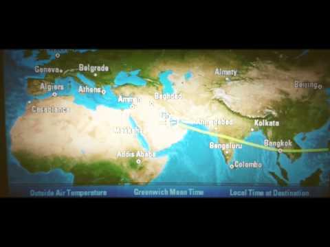 Qatar Airways - from Manila to Doha