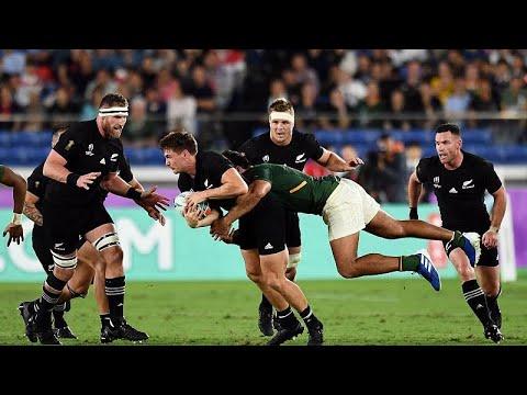 euronews (en français): Mondial de rugby : All Blacks et Bleus OK, typhon en vue