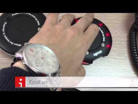 Ecall kiểm tra thiết bị tự phục vụ cho nhà hàng, quán cafe theo mô hình tự phục vụ