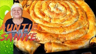 Pastry with Red Pepper Filling Recipe | Paprika Borek