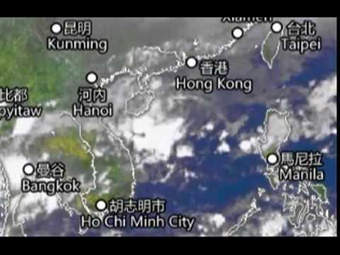 Tropical depression in the South China Sea will cause periodic rains in Sanya, Hainan, China