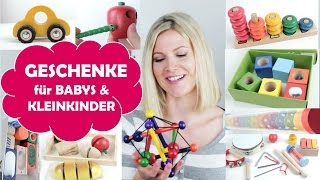 WEIHNACHTSGESCHENKE für Babys und Kleinkinder | BESTES SPIELZEUG | Amazon | Geburtsgeschenk | Kinder