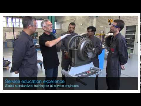 ABB Turbocharging Service Education Excellence