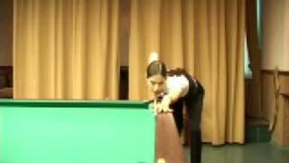 Урок бильярда № 3  упражнения на качество удара