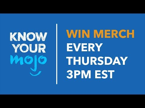 Know Your Mojo Live - Guess The List To Win Merch!