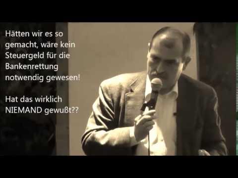 "Prof. Franz Hörmann: Erfolgsneutrale Buchung von Kreditausfällen - ""Debt Equity Swap"""