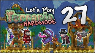 Let's Play Terraria 1.3.5 | Let's FINISH The BEACH TOWN Project! [Episode 27]