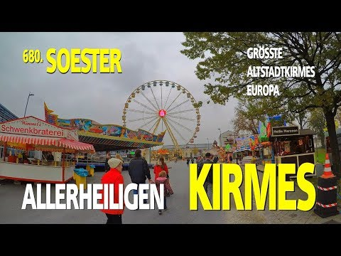 Allerheiligenkirmes Soest 2017 Reportage by kirmesmarkus