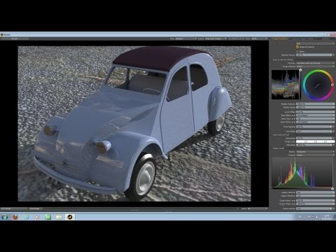 Luxology Modo - From Google Sketchup to Modo - Make it into a Sub-D model