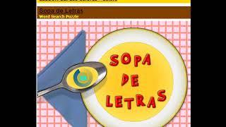 Sopa de Letras para iPad y tabletas Android - Word Search Puzzle game for iPad and Android