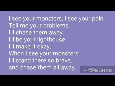 Katie Sky - Monsters Lyrics