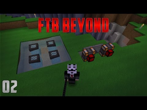 FTB Beyond EP2 Grid Power + Steam Dynamo